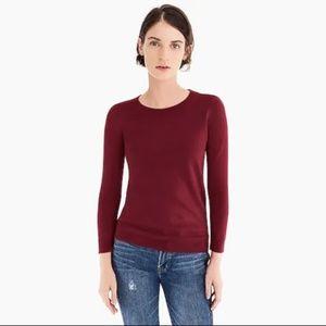 J. Crew XS Tippi Sweater 3/4 Sleeve Merino Wool